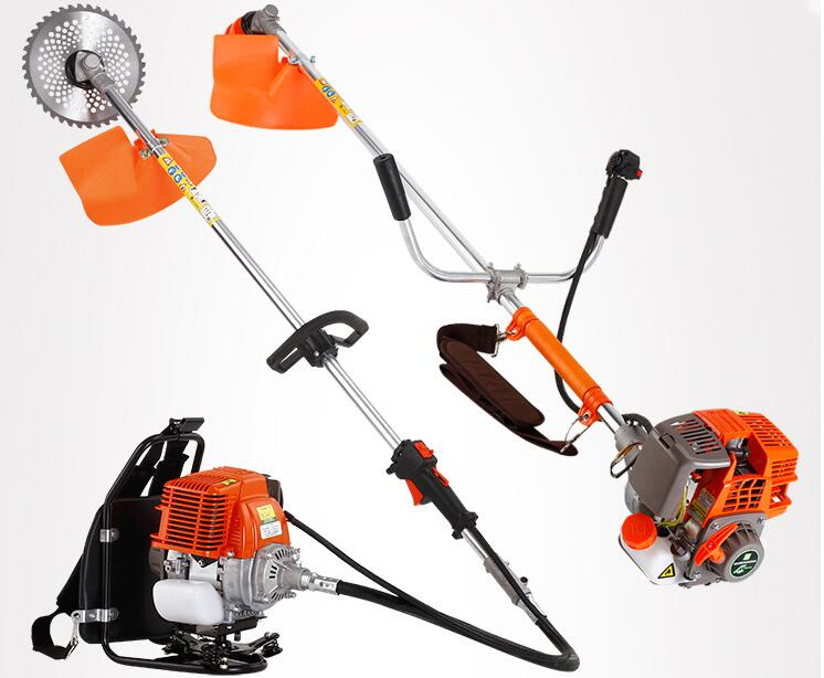 4 stroke 139 Brush Cutter is brand new Gas   Brush cutter and line trimmer