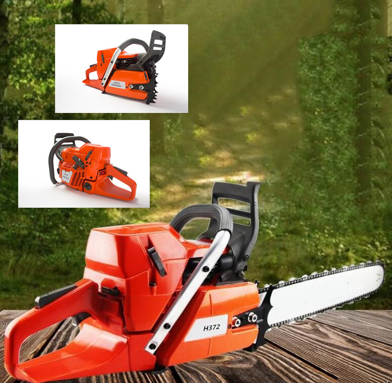 71cc sentway H372 Gasoline Chain Saw Power Head Lower Fuel Consumption 50mm Cylinder Without Guide Bar and Saw Chain